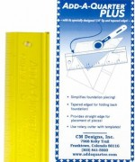 Add A-Quarter Ruler 6in Plus - Product Image