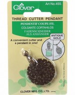 Clover Pendant Thread Cutter Antique Gold - Product Image