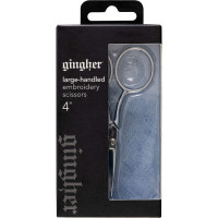 Gingher 4in Large Handle Embroidery Scissors - Product Image