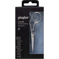 Gingher 4in Curved Embroidery Scissors  - Product Image