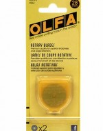 Olfa 28mm Rotary Blade 2-pack - Product Image