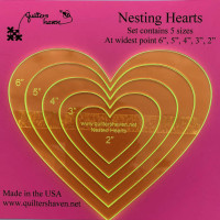 Quilters HavenNesting Hearts - Product Image