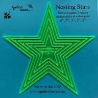 Quilters HavenNesting Stars - Product Image